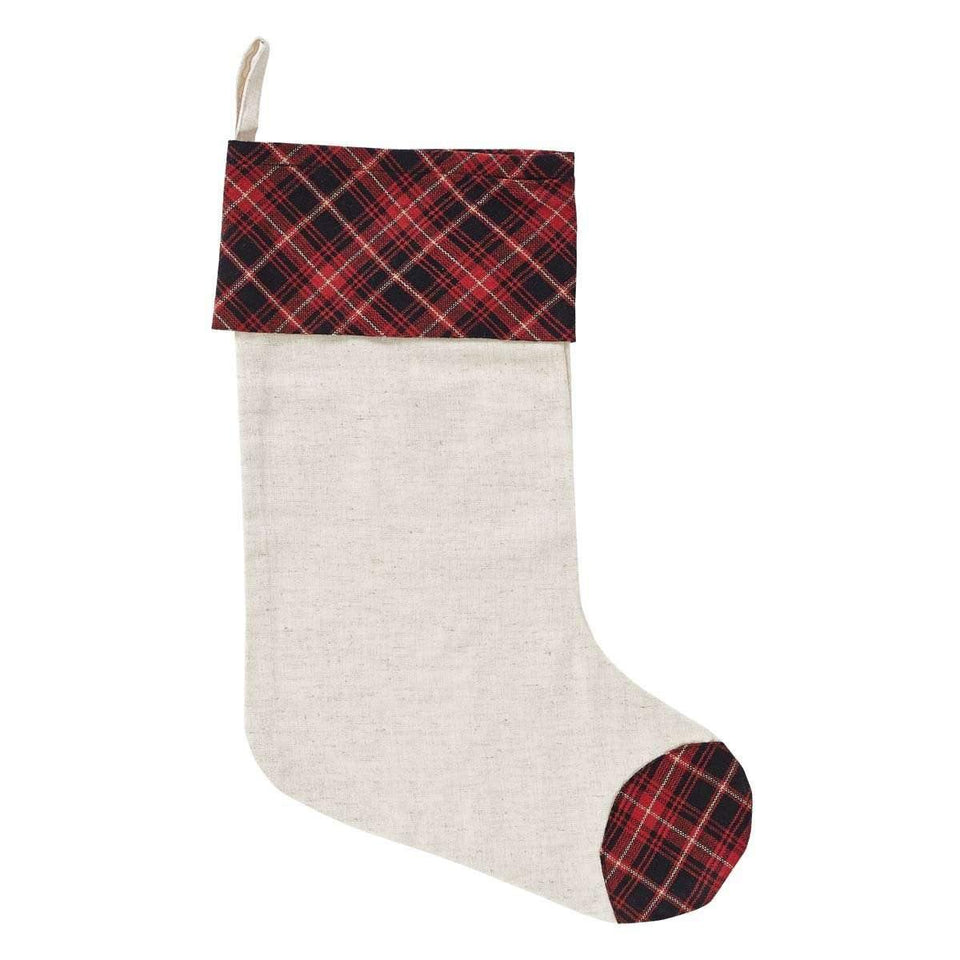 Seasons Greetings Stocking 11x15 VHC Brands