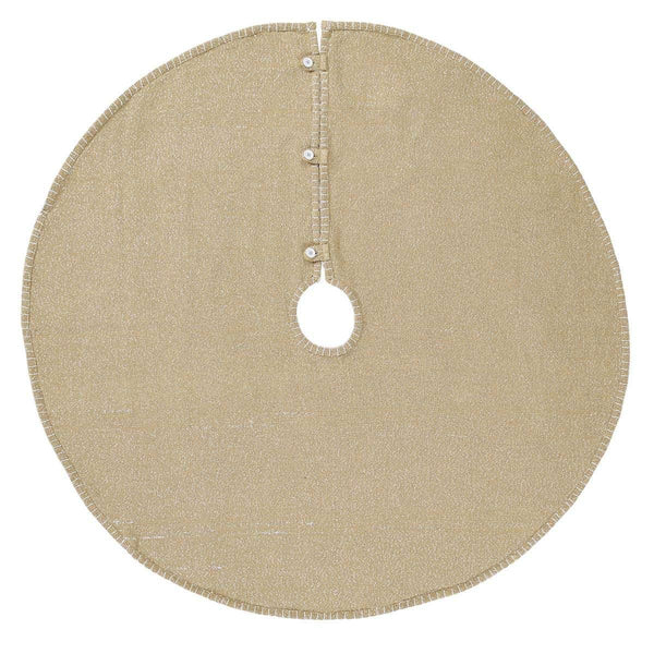 Nowell Natural Christmas Tree Skirt 48 VHC Brands