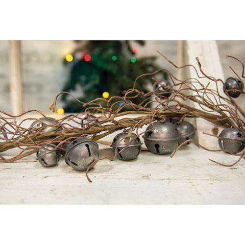 Vintage Galvanized Bell Garland Everyday CWI+