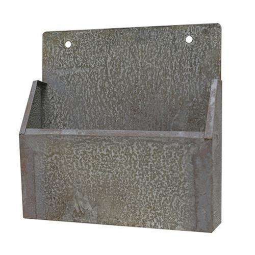 Washed Galvanized Mail Bin Containers CWI+