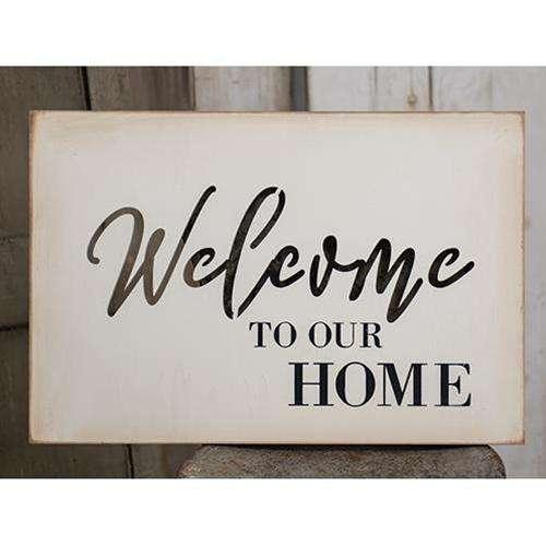 Welcome Cutout Wood Sign Pictures & Signs CWI+