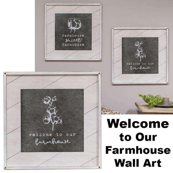 Welcome to our Farmhouse Wall Art Farmhouse Signs CWI+