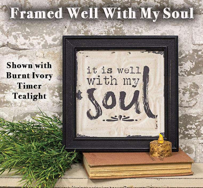 Well With My Soul Wall Art Pictures & Signs CWI+