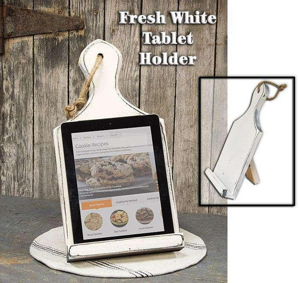 White Tablet Holder Tablet Holder CWI+