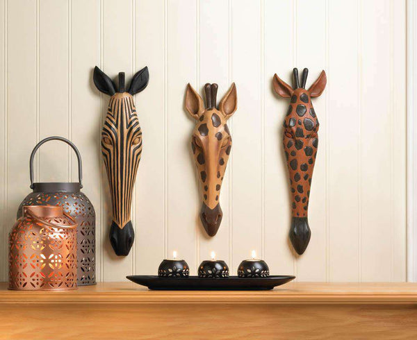 Wild Giraffe Wall Plaque - The Fox Decor