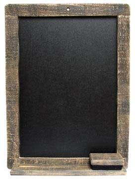 Wood Chalkboard - Natural Pictures & Signs CWI+