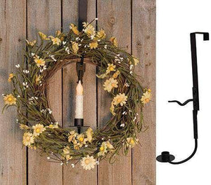Wreath & Candle Holder (2 pieces) Wreath Stands/Hangers CWI+