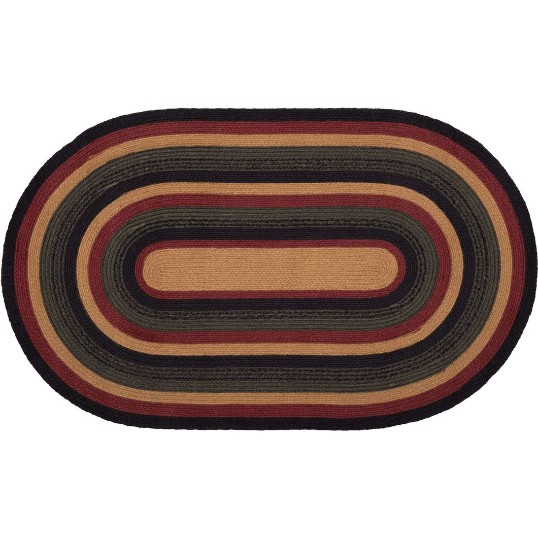 Wyatt Jute Braided Rugs Oval VHC Brands Rugs VHC Brands 27