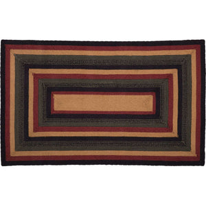 "Wyatt Jute Braided Rugs Rectangle VHC Brands Rugs VHC Brands 27""X48"""