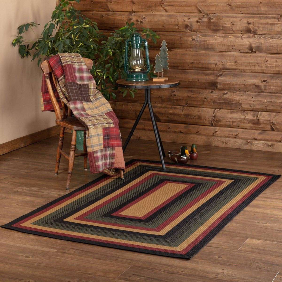 Wyatt Jute Braided Rugs Rectangle VHC Brands Rugs VHC Brands 4'x6'