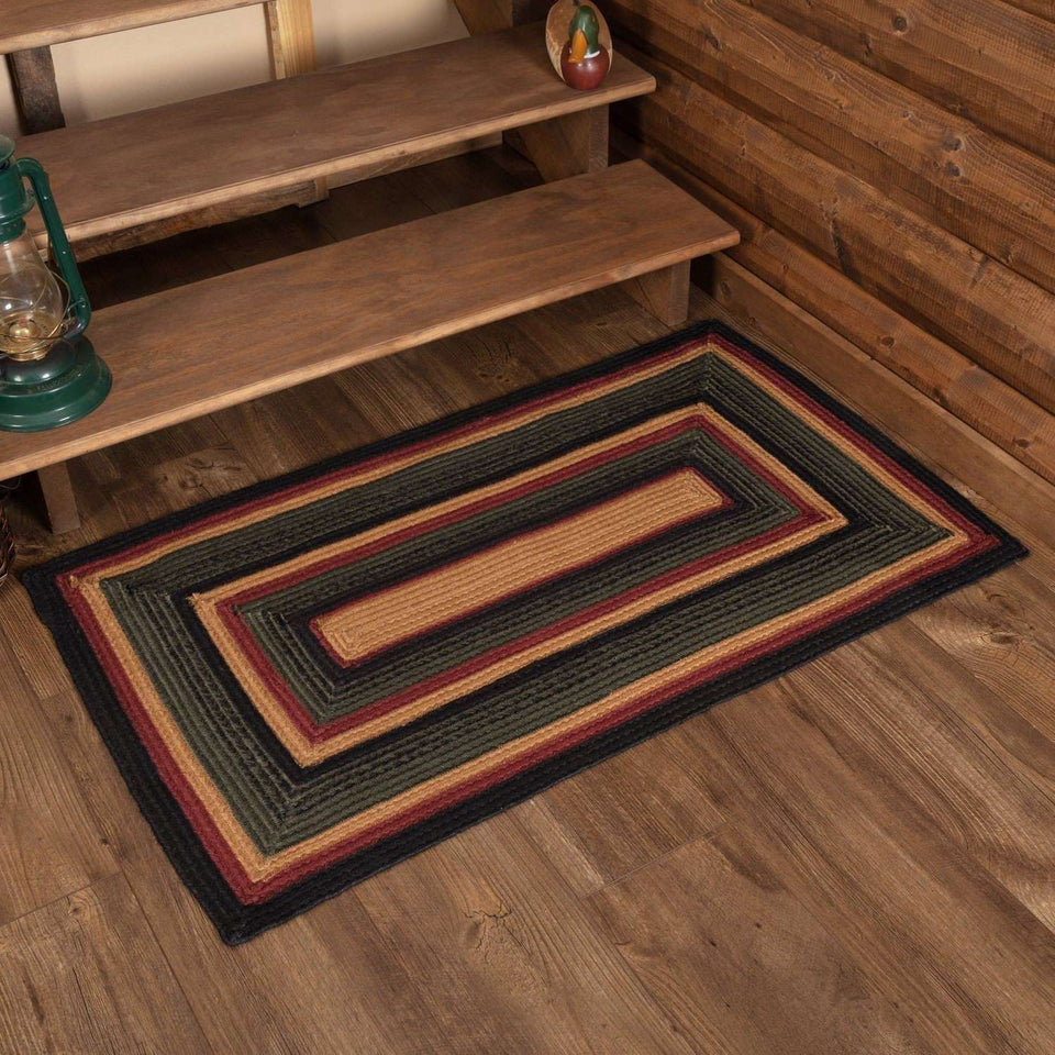 Wyatt Jute Braided Rugs Rectangle VHC Brands Rugs VHC Brands