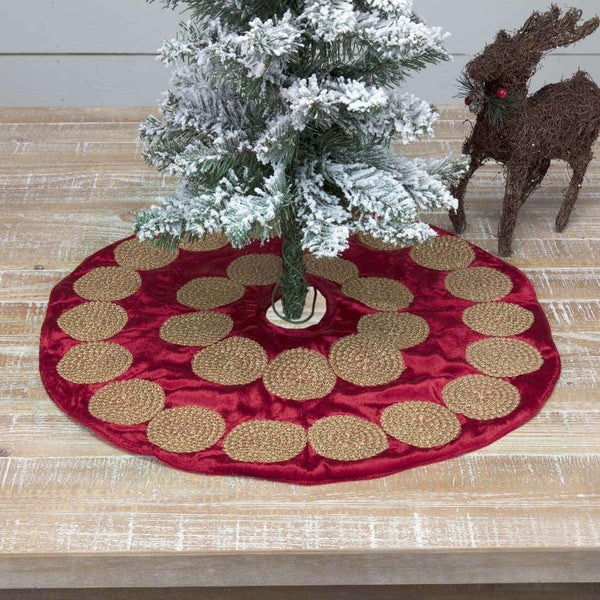 Memories Red Mini Tree Skirt 21