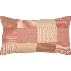 Sawyer Mill Red King Sham 21x37