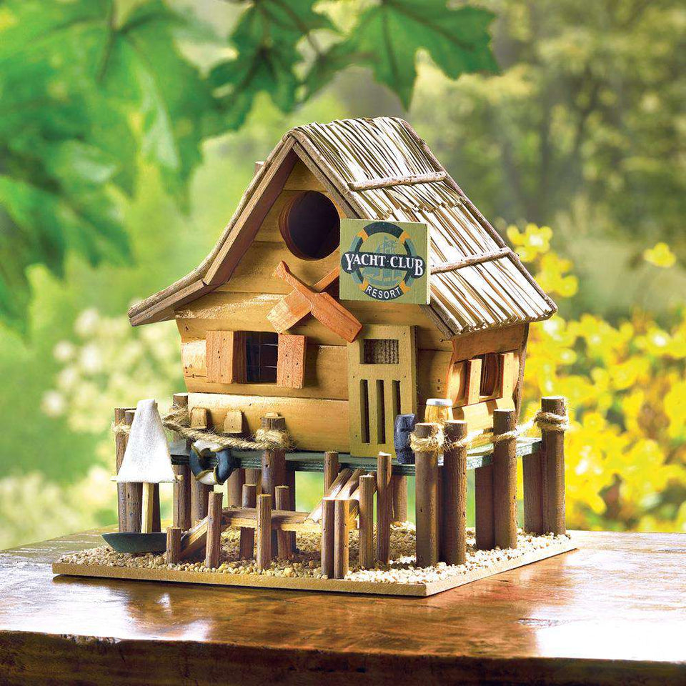 Yacht Club Birdhouse Songbird Valley