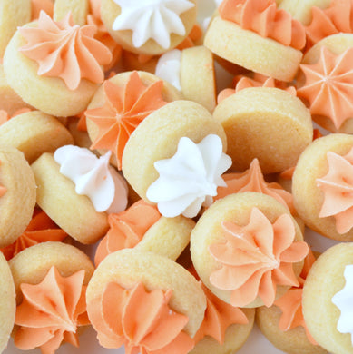orange iced gems