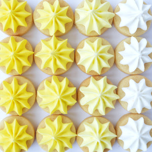 yellow biscuit gems