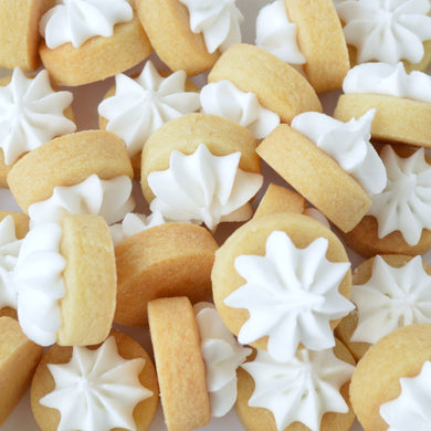white iced gems