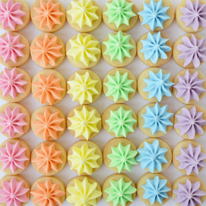 rainbow biscuit gems