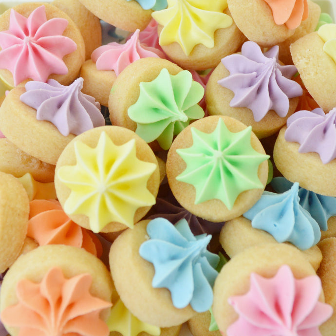 rainbow iced gems