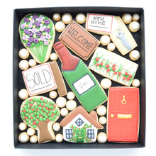 Load image into Gallery viewer, new home decorated cookies by katies biscuit shop