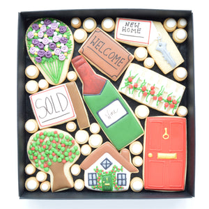 new home decorated cookies by katies biscuit shop