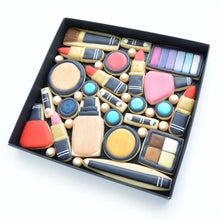 Load image into Gallery viewer, nail varnish lip sticks eye shadow make up hand iced biscuits by katies biscuit shop