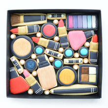Load image into Gallery viewer, nail varnish lip sticks eye shadow make up decorated cookies  by katies biscuit shop