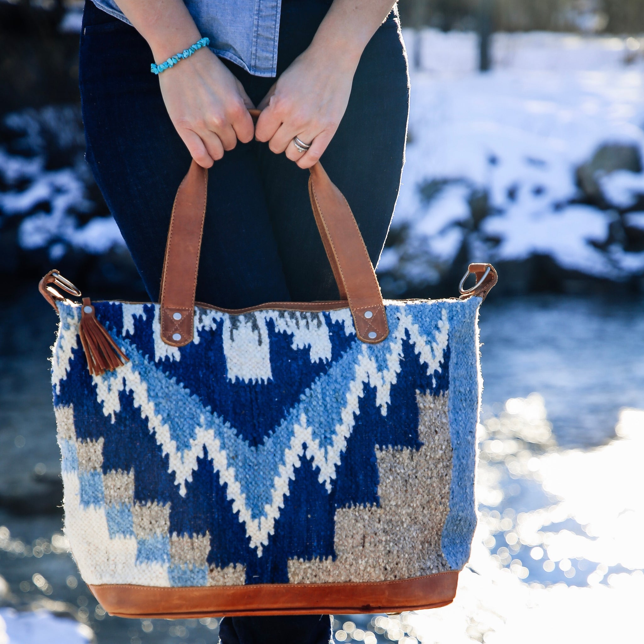 Large Wool Bag