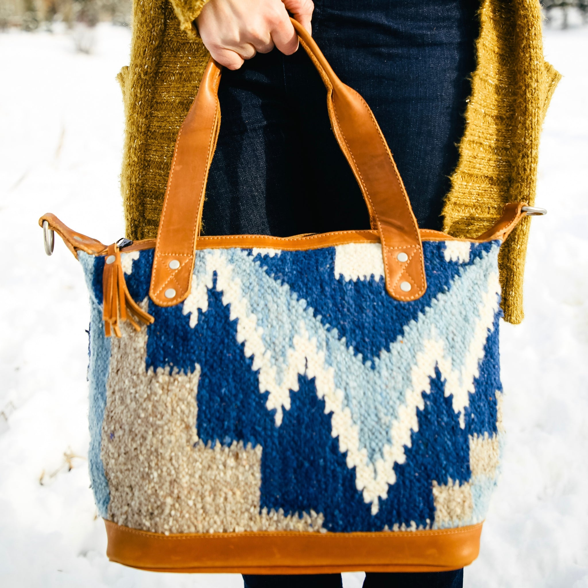 Medium Wool Bag