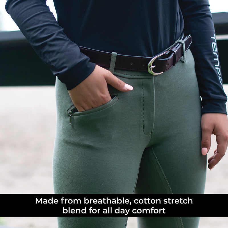 Elation Red Label Full Seat Breech
