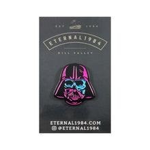 "Darth Vader Magenta and Blue 1.25"" Pin"