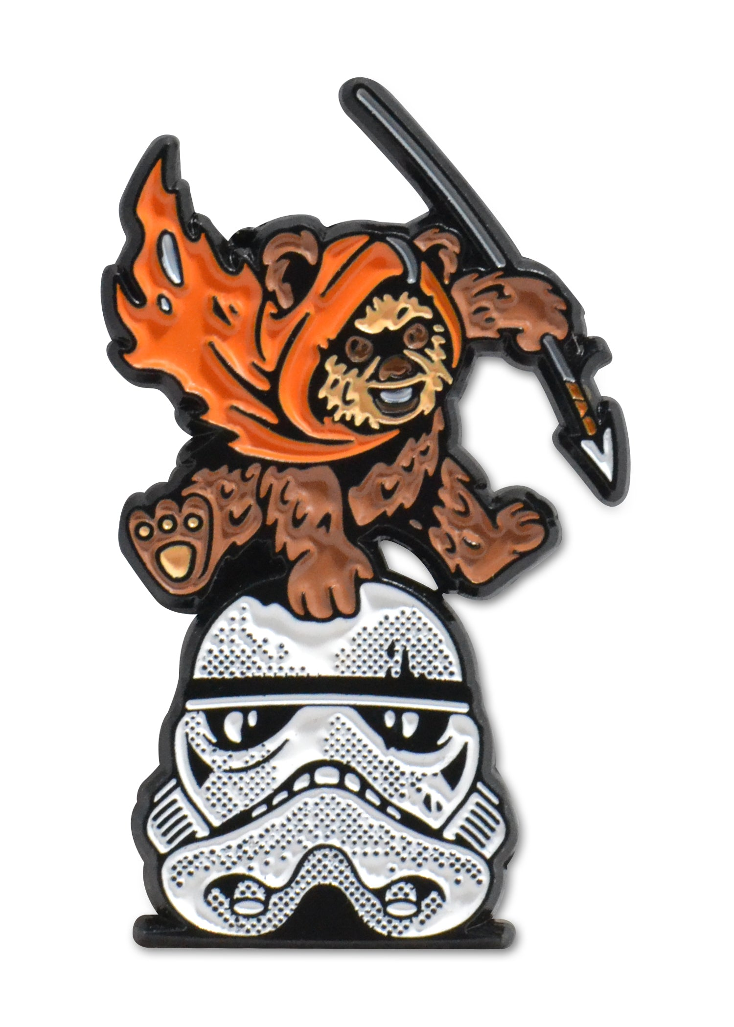 Fall of Endor - Ewok Enamel Pin - 1.5
