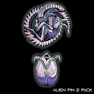 Alien Egg + Xenomorph Single Carded Combo