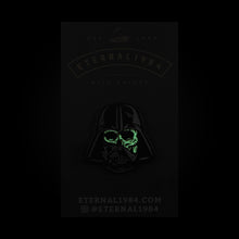 "Darth Vader Glow in the Dark 1.25"" Pin"