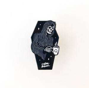 Coffee Break Soft Enamel Pin