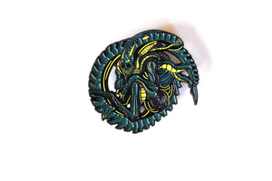 "Deluxe Alien 2"" Blind Box Pin Set"