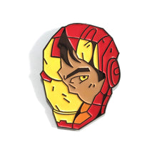 "Iron Man 1.5""  full color soft enamel pin - Marvel Avengers Infinity War"