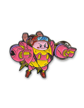 "Heartbreak Armor Kirby Soft Enamel Pin - 1.5"" Wide"