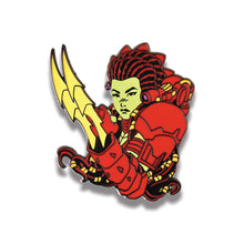 "2"" Predator/Machiko Hard Enamel Pin Red/Glow Claws Variant"