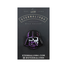 "Darth Purple and Blue 1.25"" Pin"