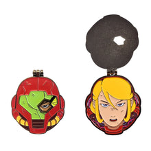"Super Metroid - Samus Flip Hinge Pin 1.50"" with Box"