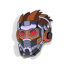 "Star-Lord 1.5"" Full color soft enamel pin - Marvel Avengers Infinity War"
