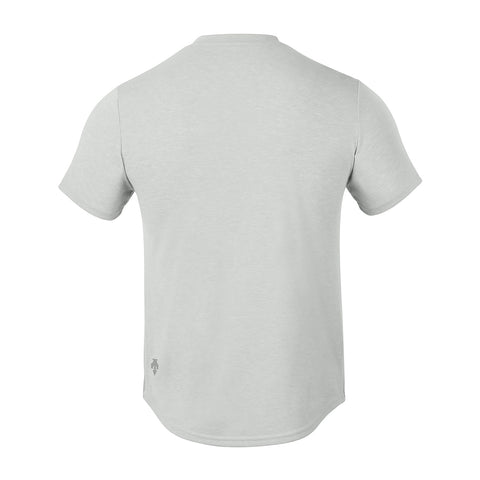 "{""color"":""Cool Gray,""alt"":""Men's Spotless Sweat Proof V-Neck T-Shirt in Cool Gray, Back""}"