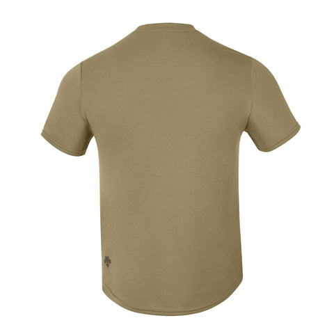 "{""color"":""Olive Shade"", ""alt"":""Spotless No-Show Sweat Short Sleeve T-Shirt in Olive Shade, Back""}"