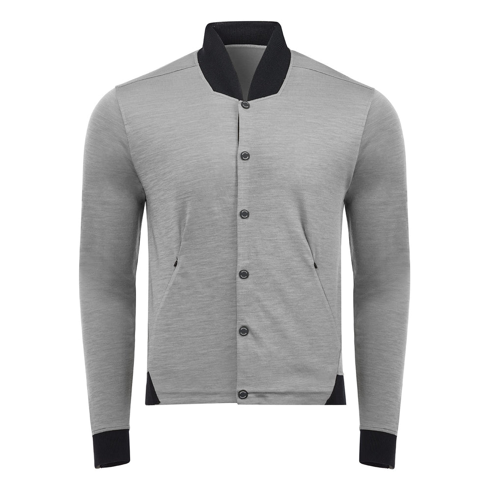 Manerd Wool Bomber Jacket
