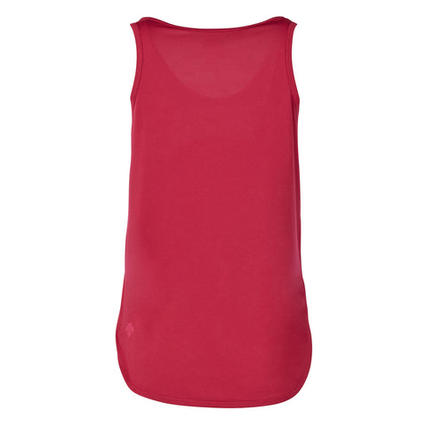 "{""color"":""Sangria"",""alt"":""Women's Smooth Touch V-Neck Tank, Back""}"