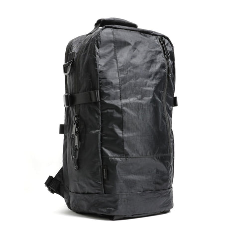 "{""color"":""Black"",""alt"":""Descente x DSPTCH Weekender Backpack front view in black""}"