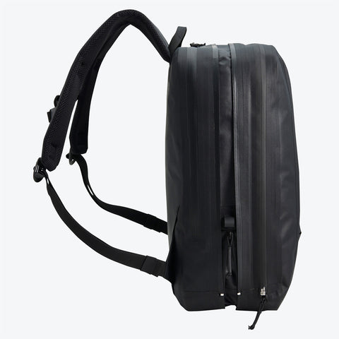 "{""color"":""Black""}, ALLTERRAIN Transform Backpack Side View Without Outer Layer"