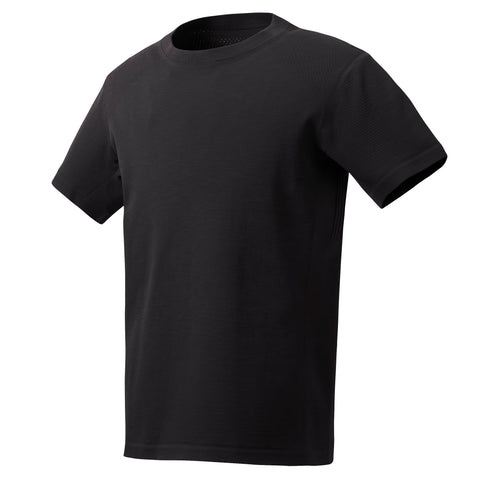 "{""color"":""Black"",""alt"":""SYNCHKNIT Capture Short Sleeve Shirt, Great for Golf and Outdoor Sports""}"