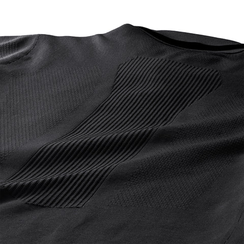 This is schematech material, a lightweight a breathable composition that doesn't limit your range of movement and provides all-day comfort and durability.
